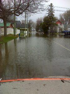 Inondation - Pensez Bleu