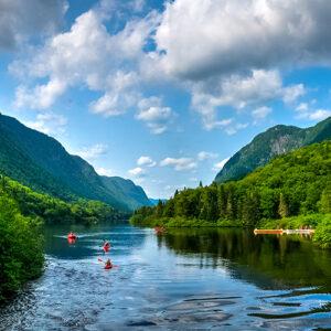 riviere kayak - Pensez Bleu
